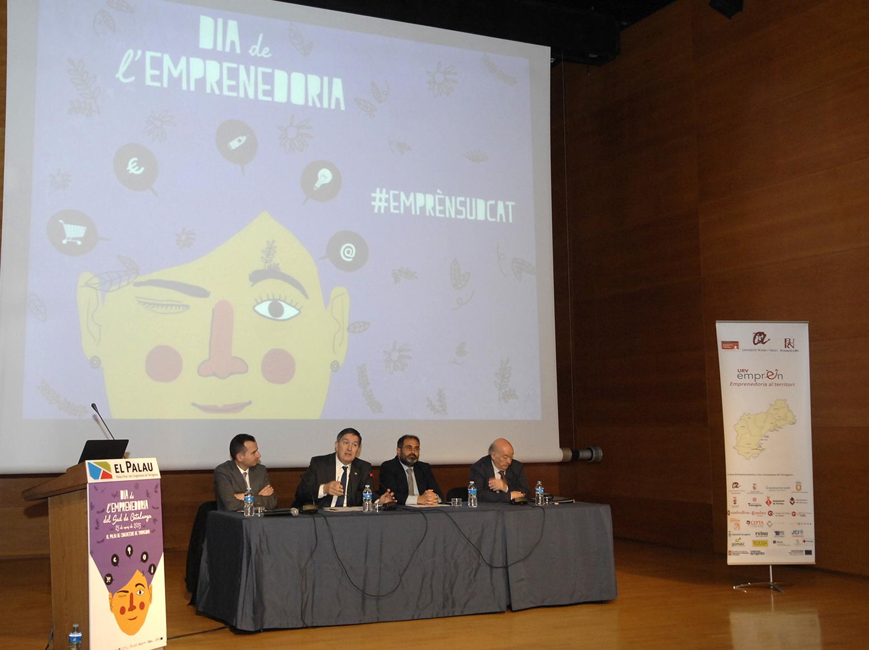 L'obertura de l'acte ha anat a càrrec del rector de la URV, Josep Anton Ferré i el  Conseller delegat de Treball i Activació econòmica de l'ajuntament de Tarragona,  Xavier Tarrés.