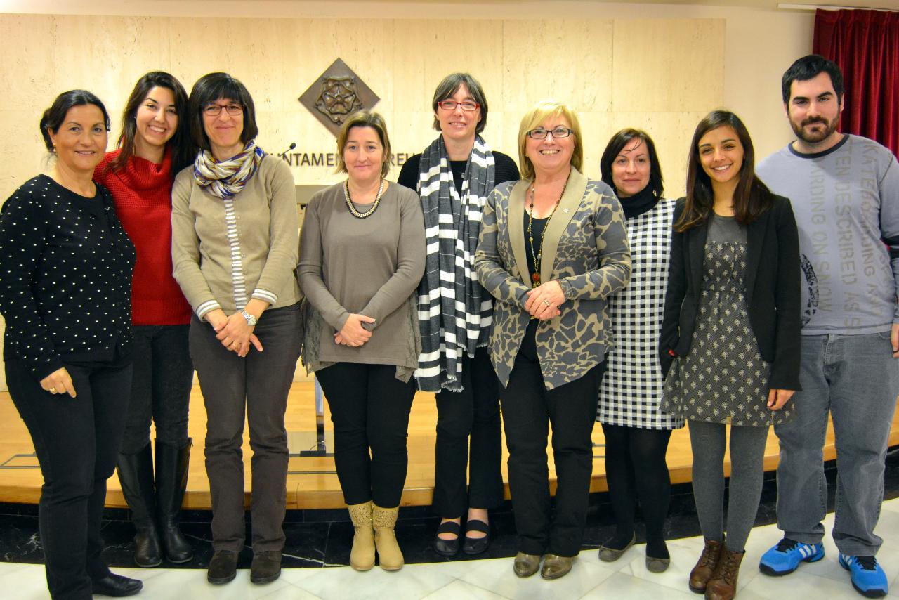 Presentació del Balaç del I Mercat de Projectes Socials a l'Ajuntament de Reus