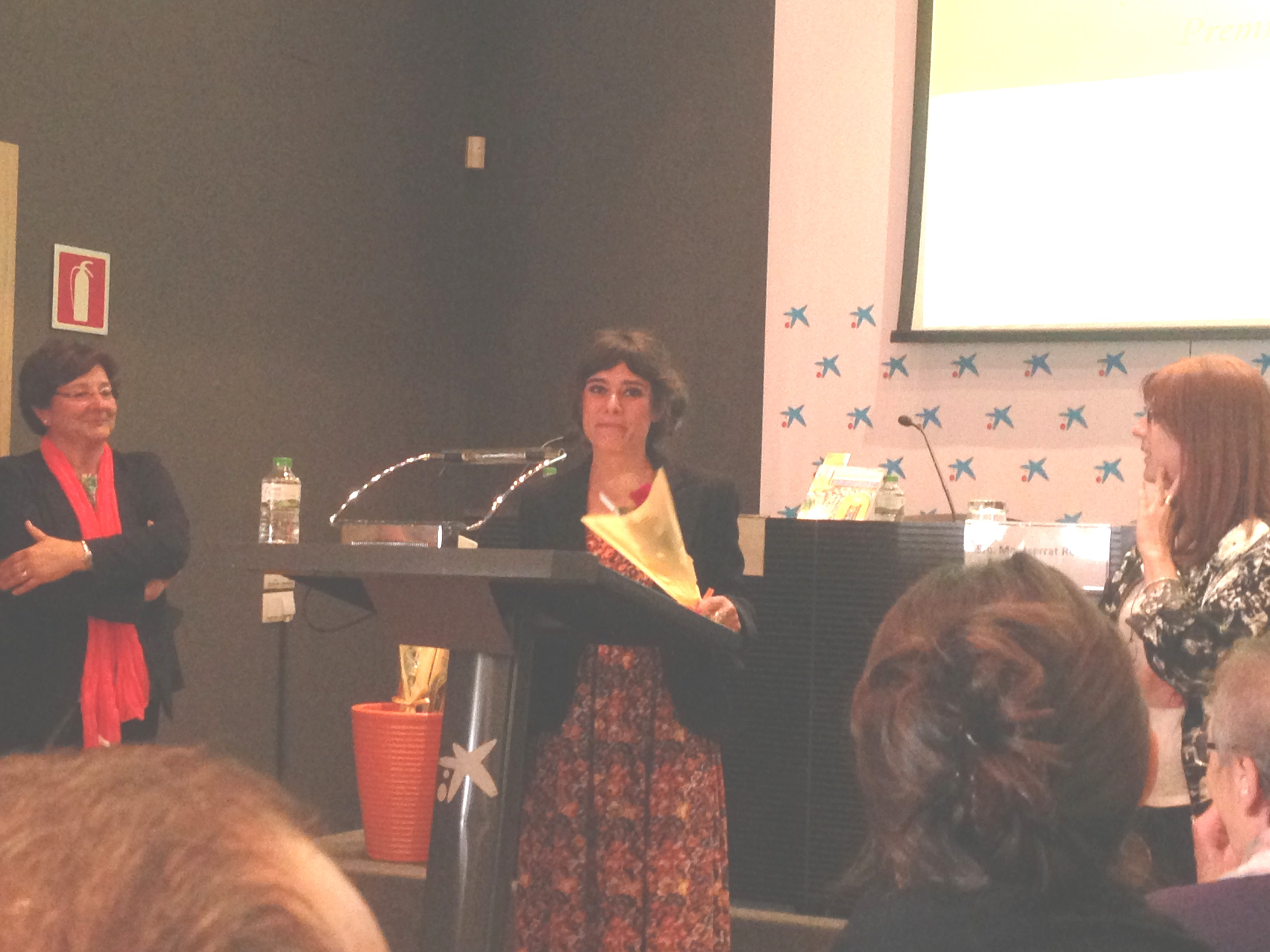 La professora Susana Borràs és una dels sis membres de l'equip dels Horts Socials