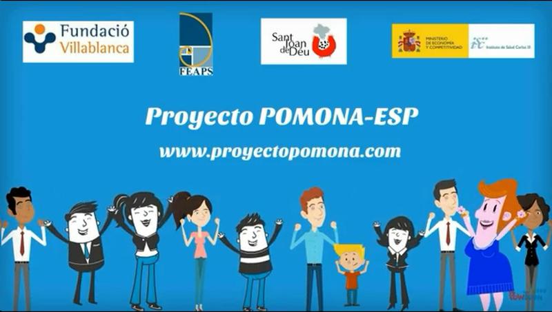 Imatge del vídeo divulgatiu sobre el projecte POMONA-ESP.