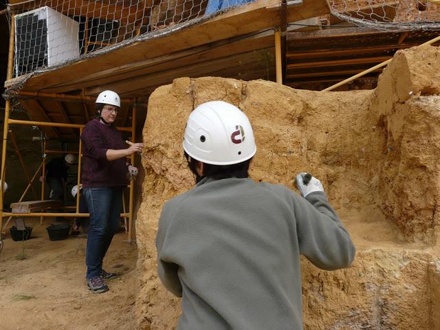 Galería és un altre dels jaciments d'Atapuerca on ja ha començat la campanya d'enguany (foto cedida per la Fundación Atapuerca)