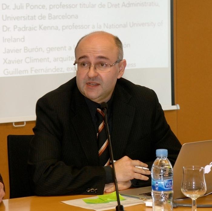 L'investigador Sergio Nasarre dirigeix la Càtedra d'Habitatge de la URV.