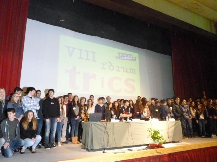 Participantes del VIII fòrum TRiCS.