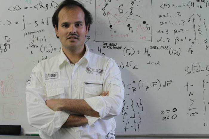 Vladimir Baulin es investigador de la Escuela Técnica Superior de Ingeniería Química (ETSEQ) de la URV.