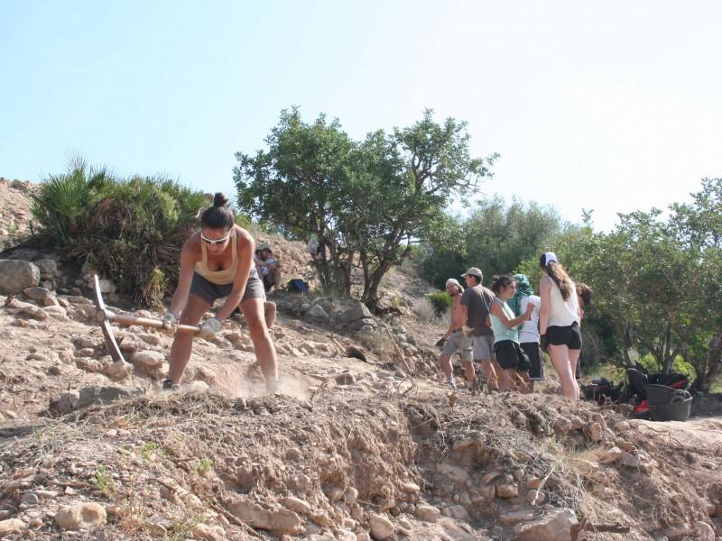 La campanya arqueològica s'ha dut a terme durant el mes de juliol.