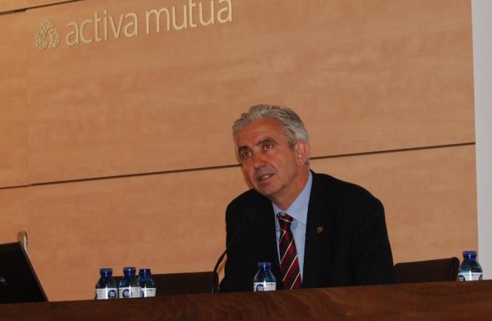 Jordi Tous, investigador de la URV, durant la presentació de l'eina a Reus el passat 15 de maig.
