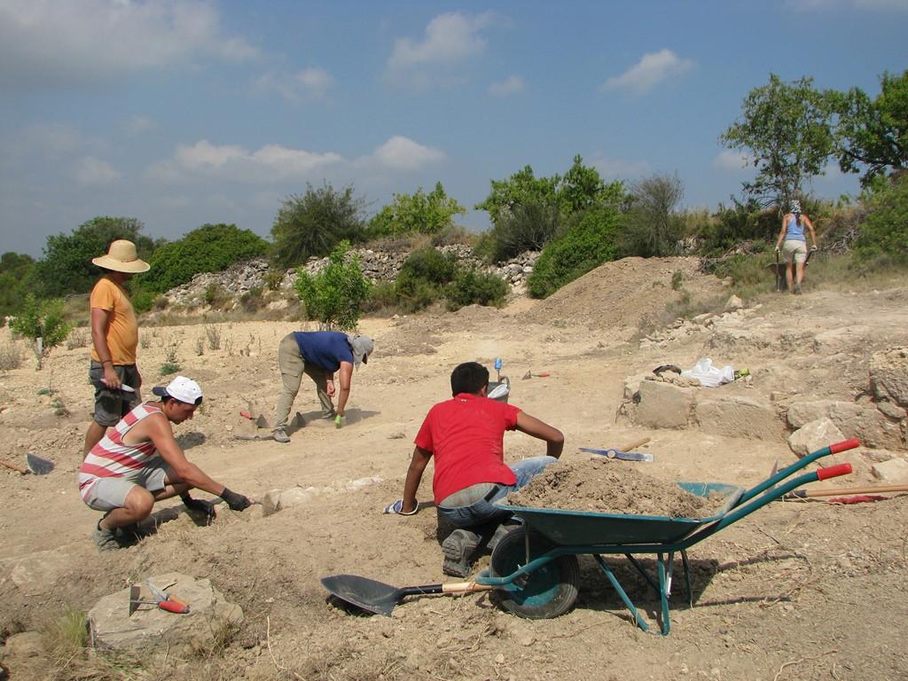 Arqueòlegs i estudiants han treballat durant quinze dies.