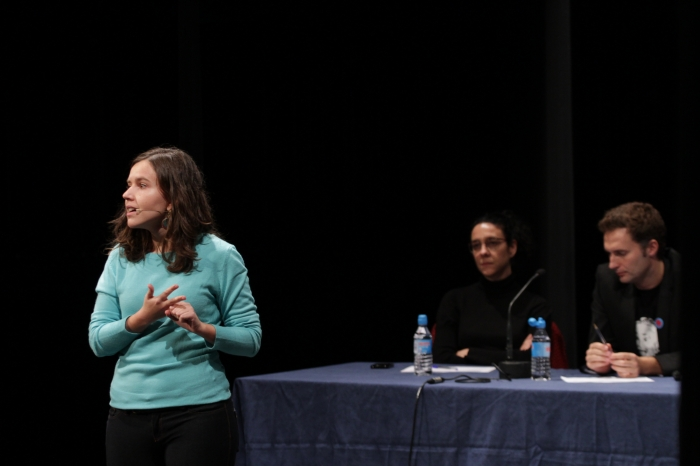 """La investigadora Helena Torrell va presentar els resultats de la seva recerca durant el concurs """"Vols saber què investigo?"""""""