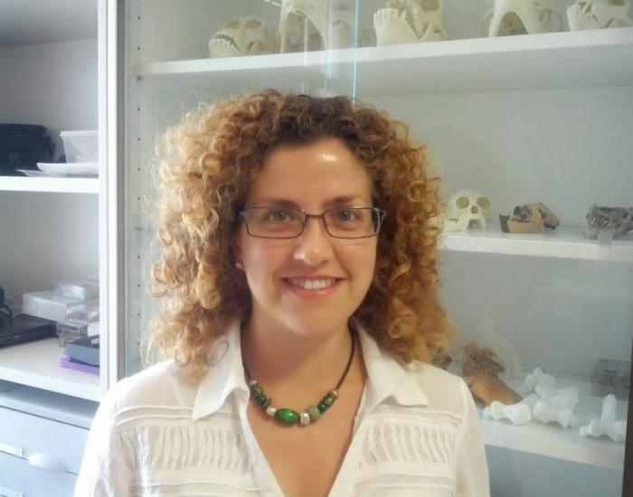 Marina Lozano, arqueòloga i coautora de l'article.