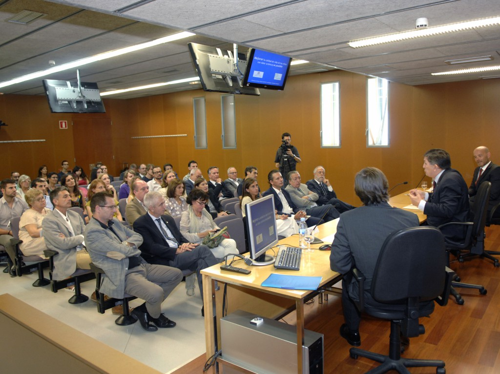Acte de presentació de la nova càtedra