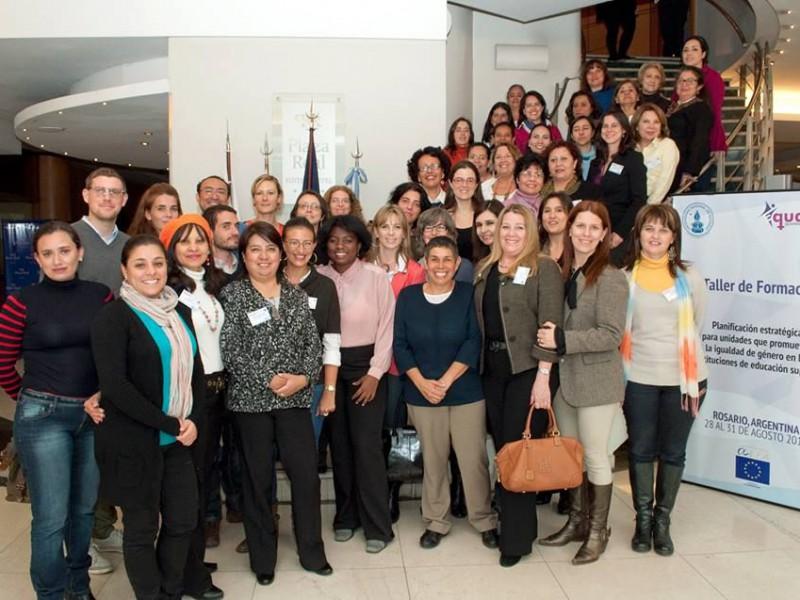 Taller de formació del consorci del projecte Equality a Rosario (Argentina).