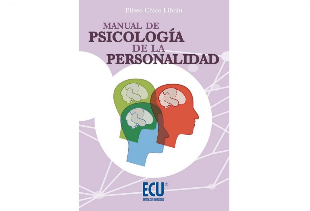 """Portada del """"Manual de Psicología de la Personalidad""""."""