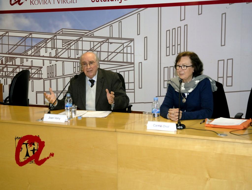 Joan Veny i Carme Oriol