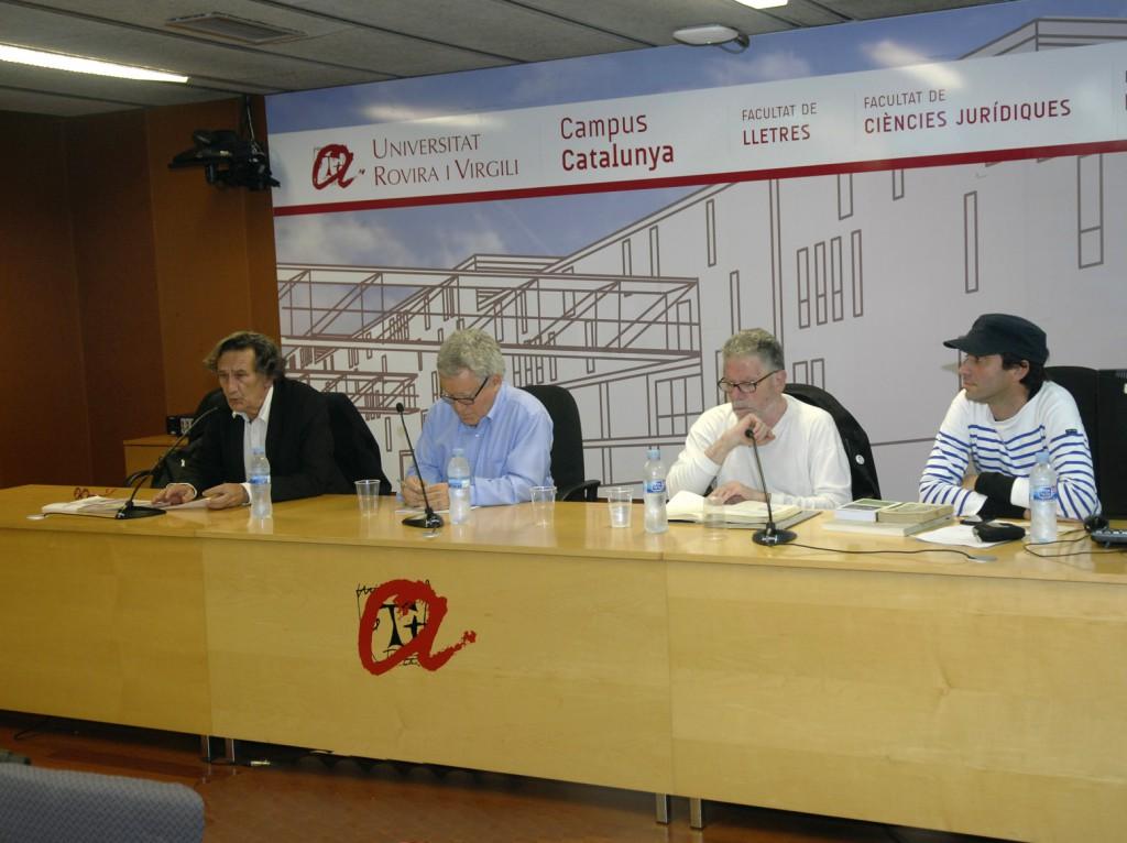 Una de les sessions celebrades dins el Congrés sobre Lorca.