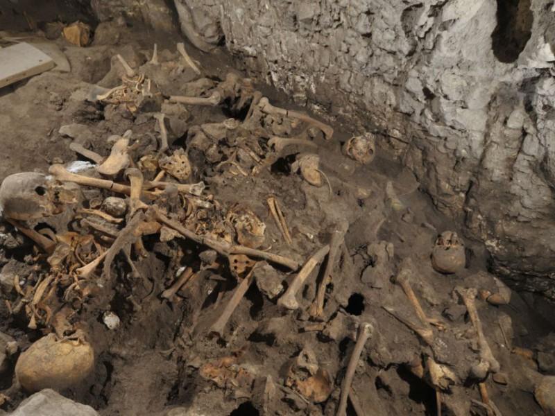 Restes d'homínids apareguts durants les excavacions a la Cueva El Mirador, a Atapuerca