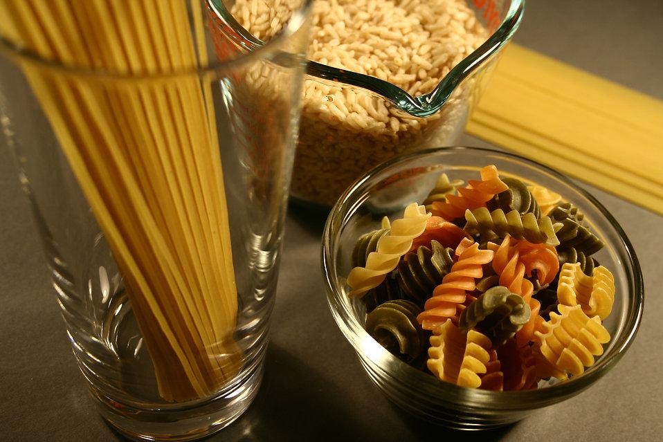 Pasta i arròs refinats