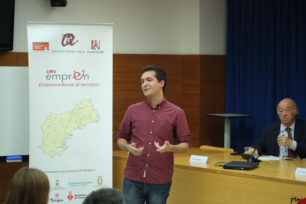Javier Linares, responsable de producte de l'empresa Waitless.