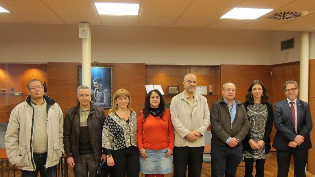 Delegation of the Université Mohamed Premier