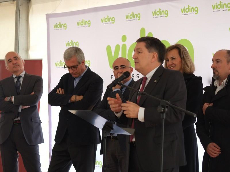 D'esquerra a dreta Jaime Gross, Josep Fèlix Ballesteros, Òscar Peris, Josep Anton Ferré, Mônica Garay i Josep Ferrando.
