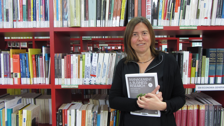 Dolors Setó, del Departament de Gestió d'Empreses de la URV i autora de l'estudi.
