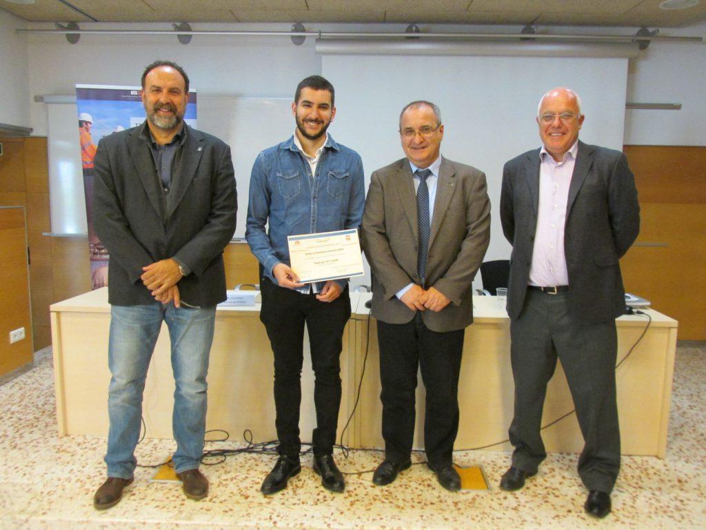 D'esquerra a dreta, Josep Bonet, Rodrigo Gil, Miguel Muñoz i Xavier Farriol.