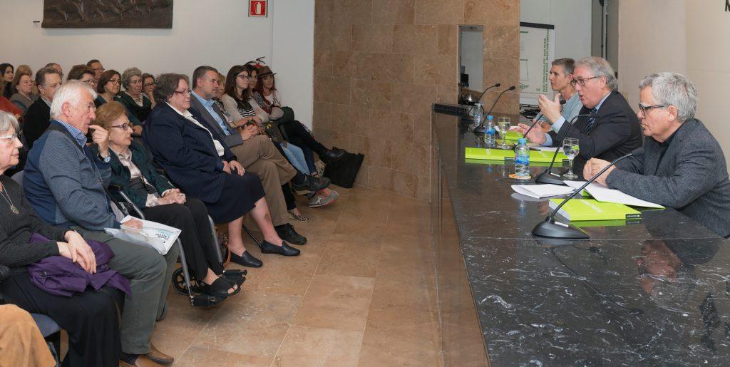 Imatge de presentació del primer llibre i de l'exposició, al Museu d'Art Modern de Tarragona. / Alberich Fotògrafs.