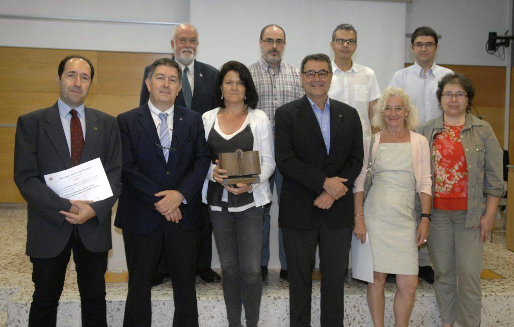 El premi a la modalitat col·lectiva ha estat per a un projecte de l'ETSE.