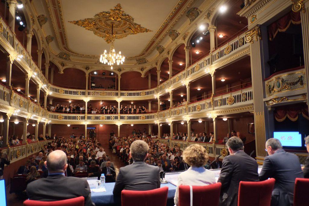 El teatre Bartrina des de l'escenari