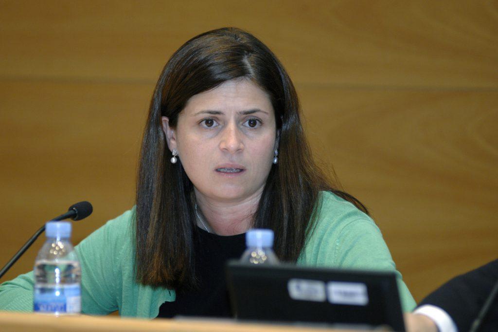 Núria Betriu, directora general d'Indústria, durant la seva intervenció.