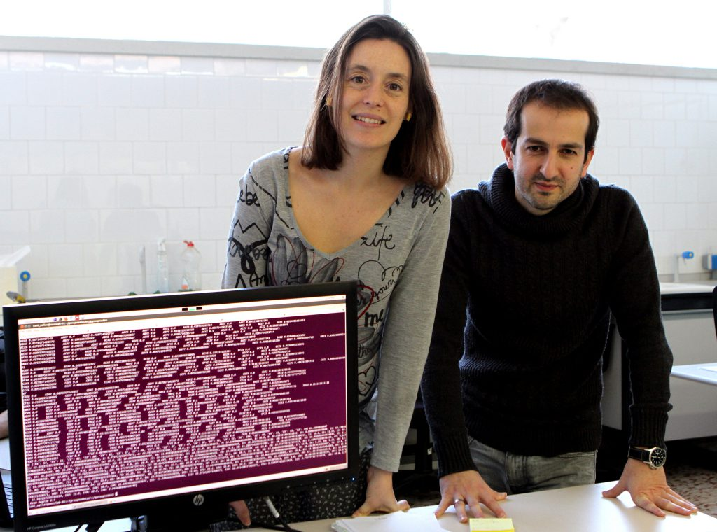 Marta Sales i Roger Guimerà, dos de los autores del artículo, investigadores del grupo SEES:lab