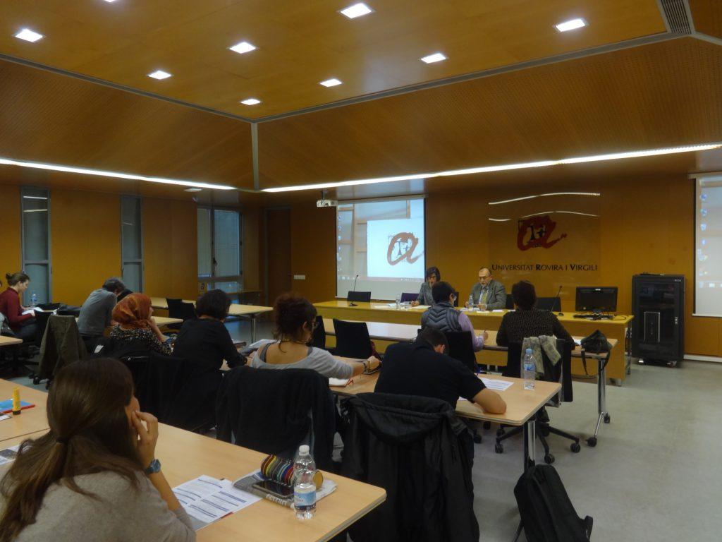Presentació estudi de cas Berlin-Barcelona a càrrec de la Dra. Irene Sabaté.