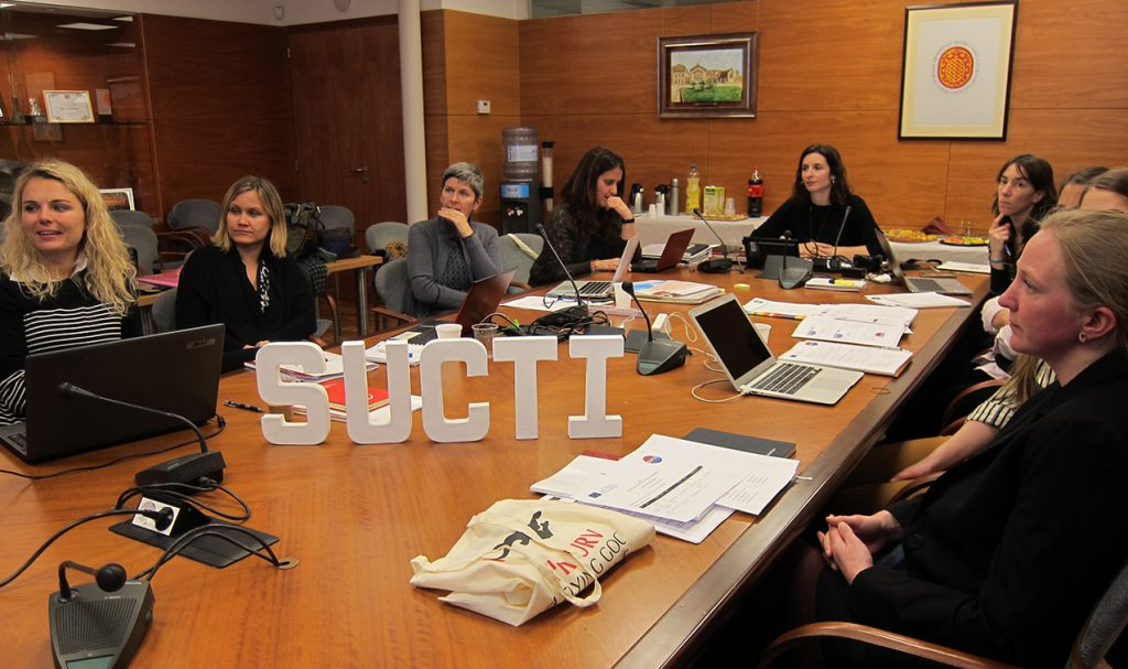 The project participants held their first meeting on 16 January at the Rector's Offices of the URV.