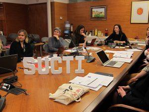 Els participants del projecte es van reunir per primer cop el 16 de gener al Rectorat de la URV.