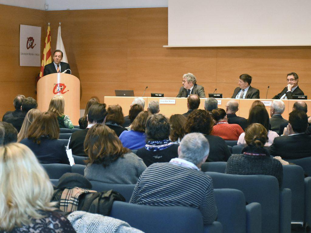 Xavier Prats, director de Salut i Seguretat Alimentària de la Comissió Europea, pronunciant la ponència