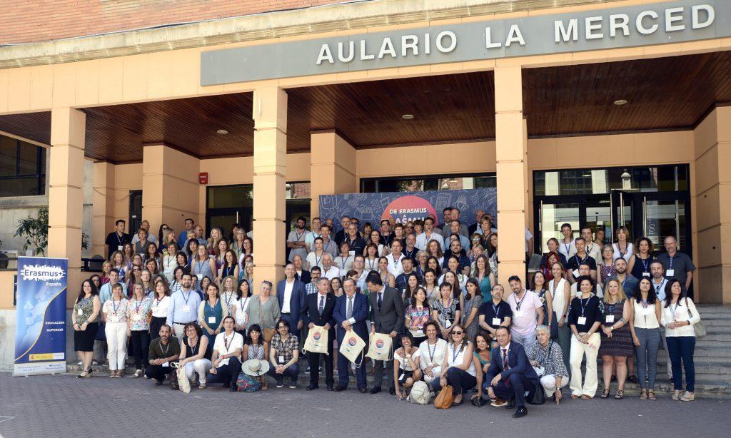 Tots els participants en les jornades a la Universidad de Murcia