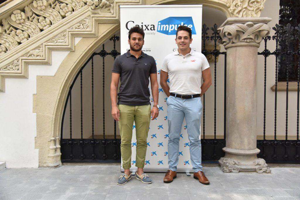 Jordi Ferré i Hèctor González, que participen al projecte Kamleon.