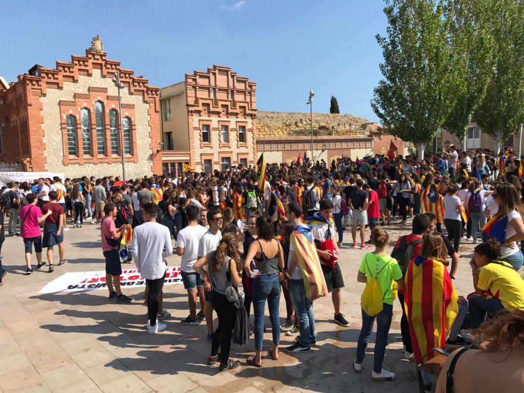 La vaga convocada pels estudiants ha tingut un seguiment a la URV del 78%.