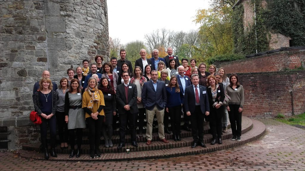 The participants of the SGroup Liaison Officers' Meeting