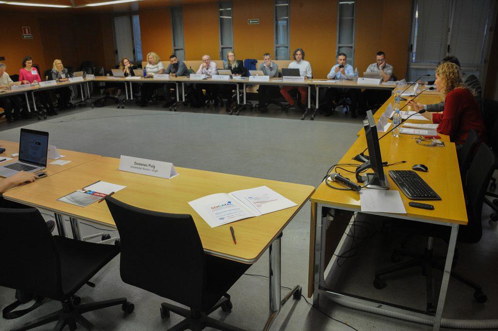 El campus Catalunya ha acollit la primera reunió del projecte, amb representants de les 13 institucions, empreses i universitats implicades.