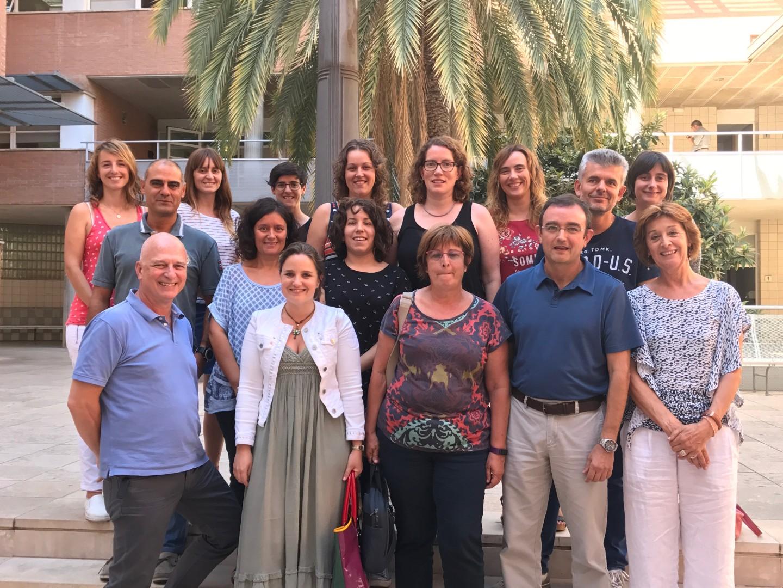 Foto de grupo de la Unidad de Investigación en Lípidos y Arteriosclerosis de la URV.