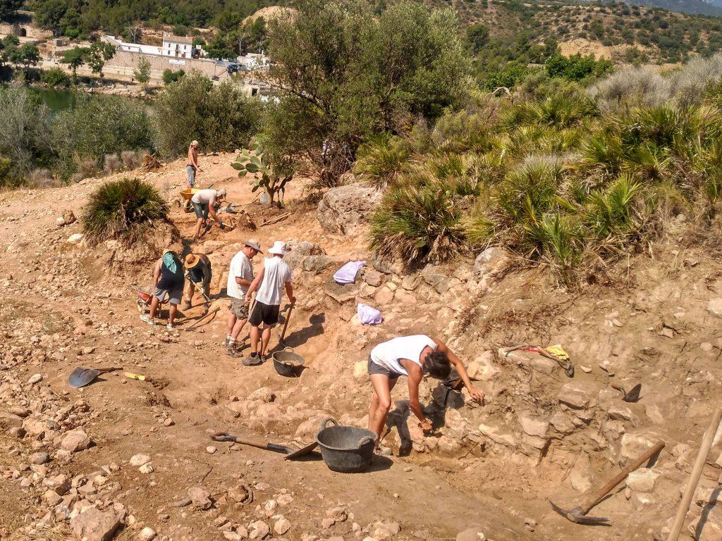 Las excavaciones en el poblado ibérico del Assut de Tivenys ...