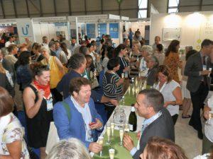 Catalan reception where URV cava was offered