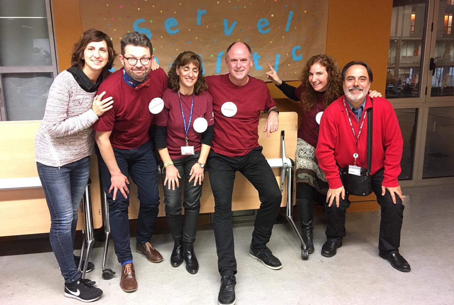 Llengües viperines, format per personal del Servei Lingüístic de la URV, va ser l'equip finalista.