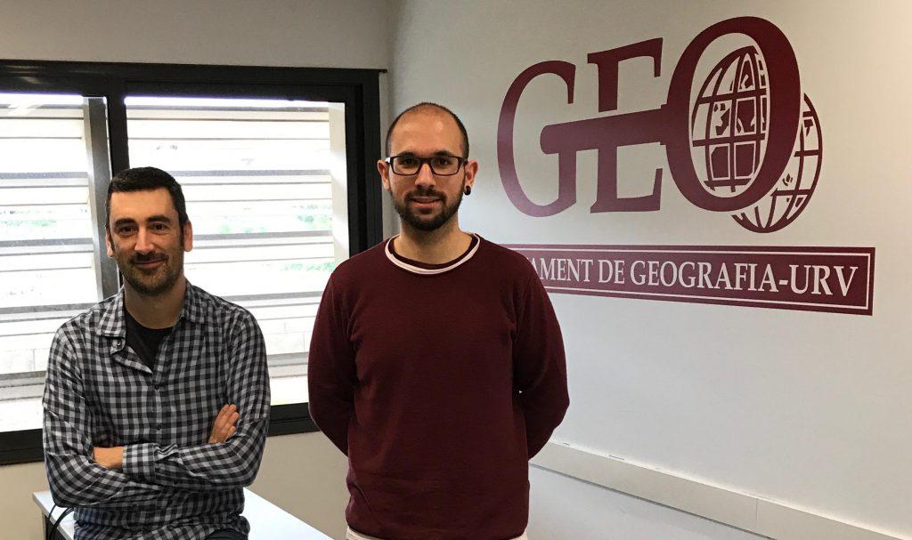 Aaron Gutiérrez i Antoni Domènech, autors del llibre.