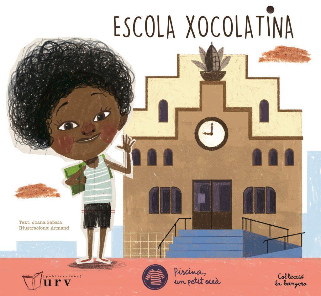 El conte Escola Xocolatina inclou el contingut dels tallers del cicle La Ciència de la Xocolata, adaptat a llenguatge infantil.