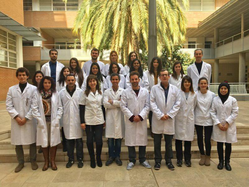 Investigadors i investigadores de la Unitat de Nutrició Humana de la URV.
