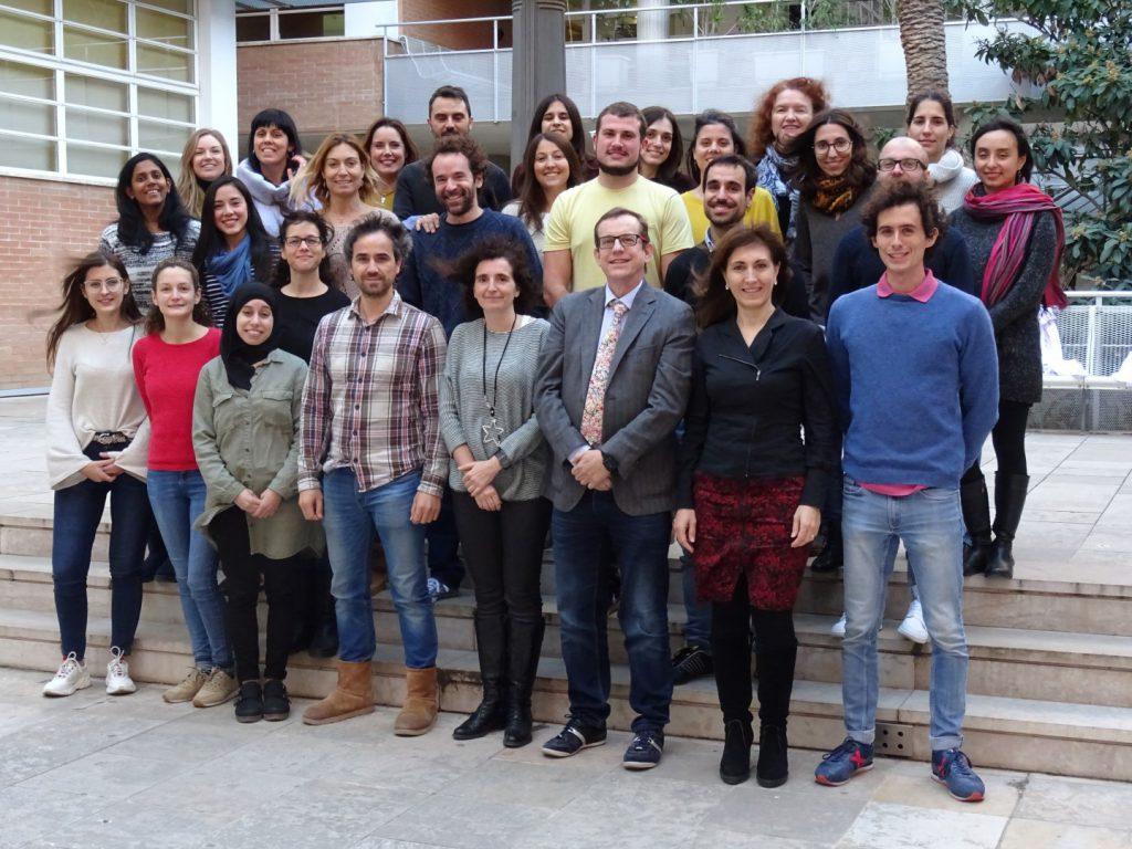 Membres de la Unitat de Nutrició Humana de la URV.