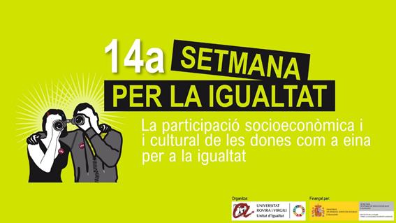 cartell setmana per a la igualtat URV