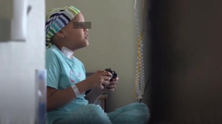 fotograma del documental juegaterapia