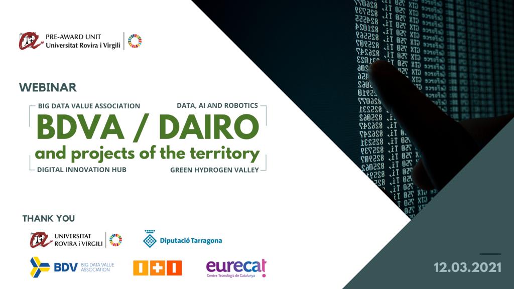 Webinar BDVA / DAIRO
